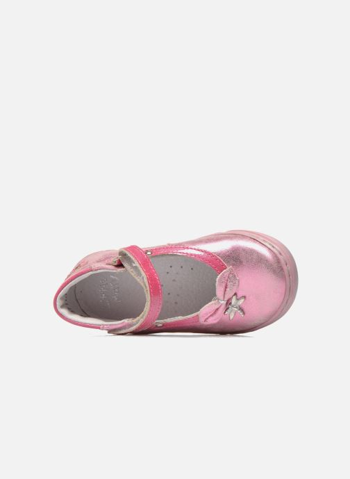 Ballet pumps Little Mary Vanda Pink view from the left