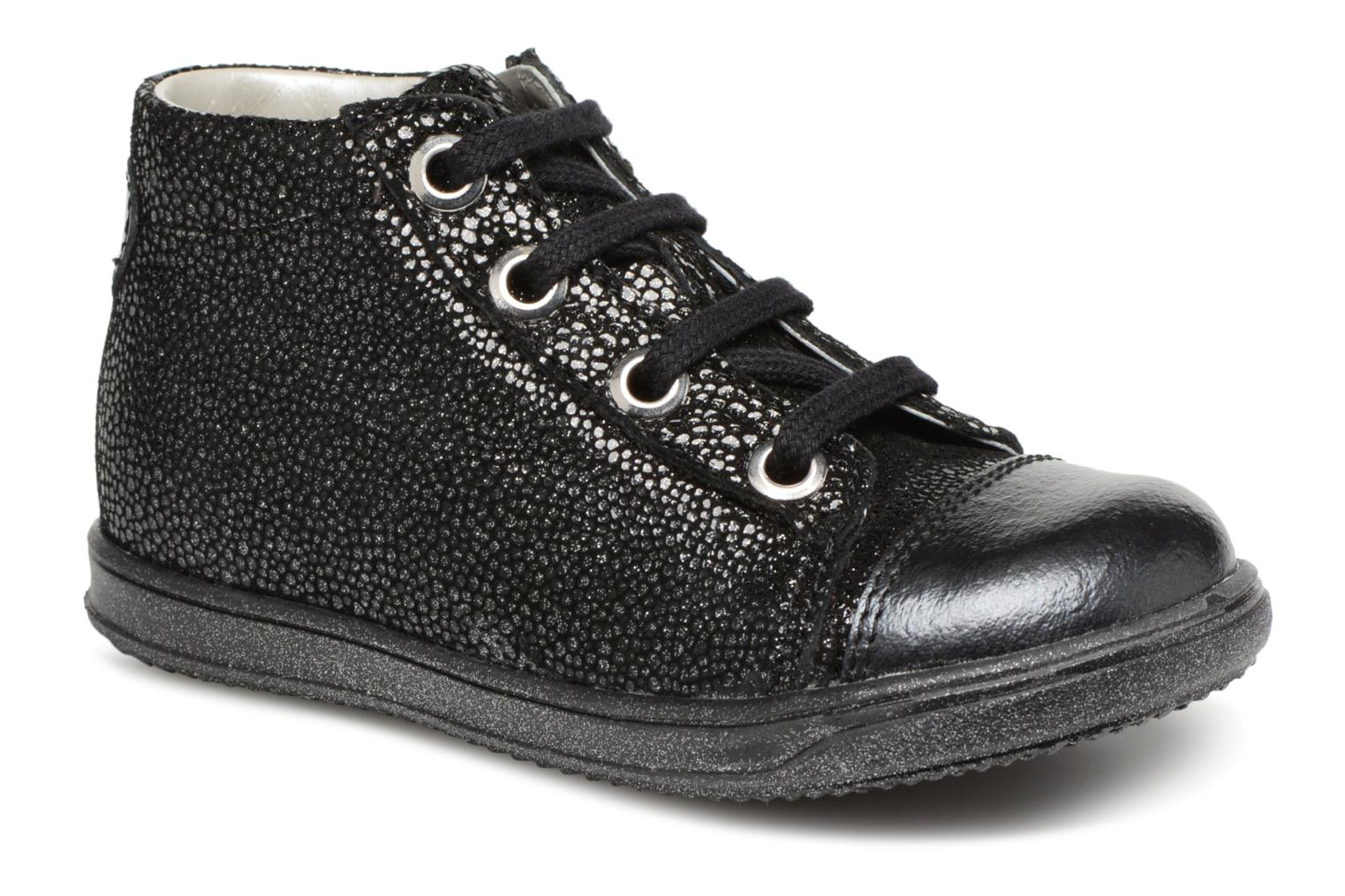 Ankle boots Little Mary Vitamine Black detailed view/ Pair view