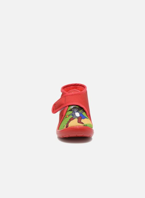 Slippers Little Mary Vchat Red model view