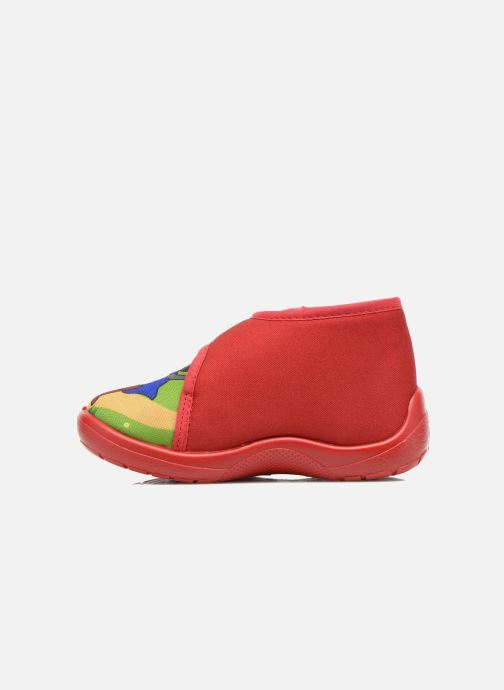 Chaussons Little Mary Vchat Rouge vue face