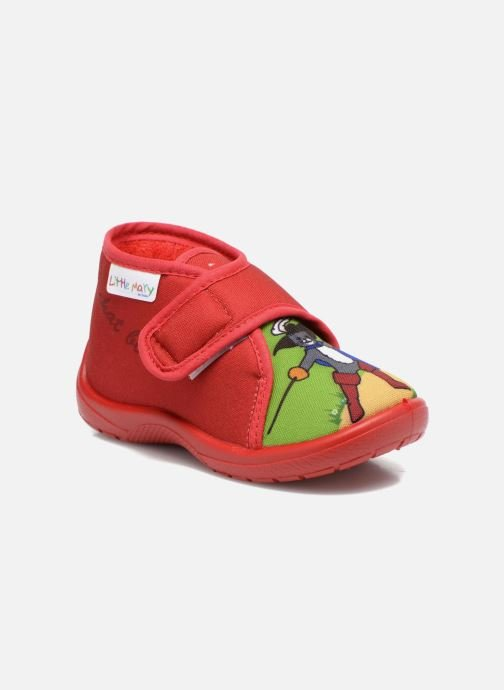 Slippers Little Mary Vchat Red detailed view/ Pair view