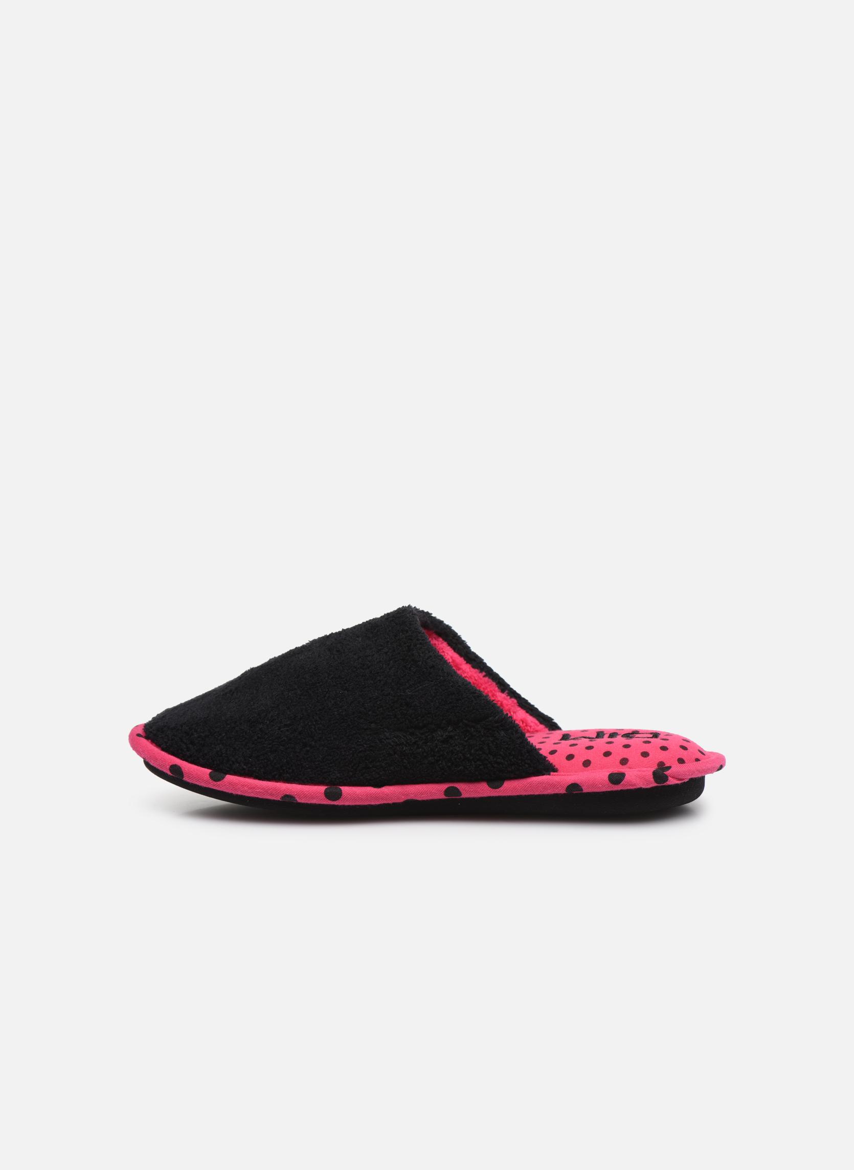 Slippers Dim D Felipa Black front view