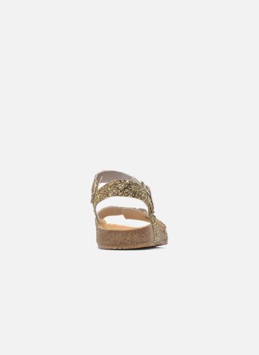 Sandales et nu-pieds Acebo's Marta Or et bronze vue droite