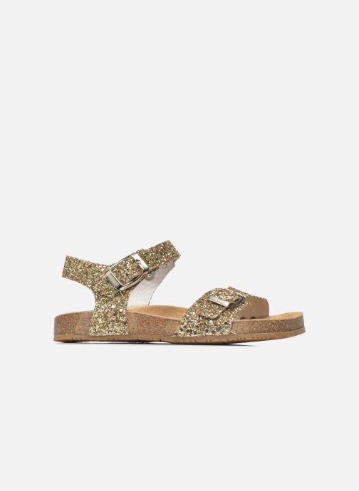 Sandales et nu-pieds Acebo's Marta Or et bronze vue derrière