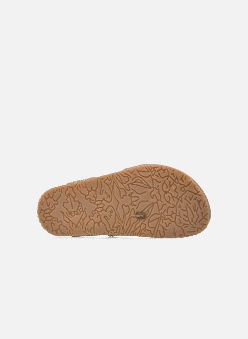 Sandales et nu-pieds Acebo's Marta Or et bronze vue haut