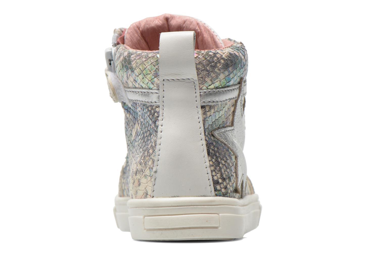 Sneaker Acebo's Paula silber ansicht von rechts