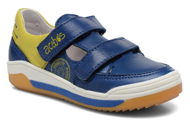 Baskets Acebo's Tempo Bleu vue détail/paire