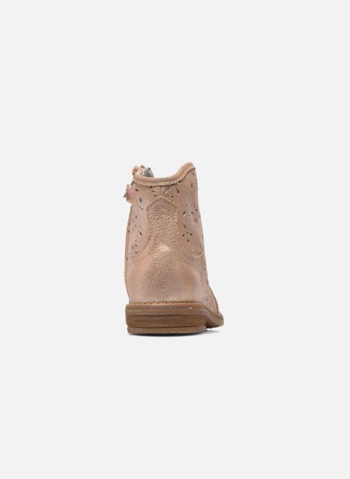 Bottines et boots Acebo's Nerea Rose vue droite