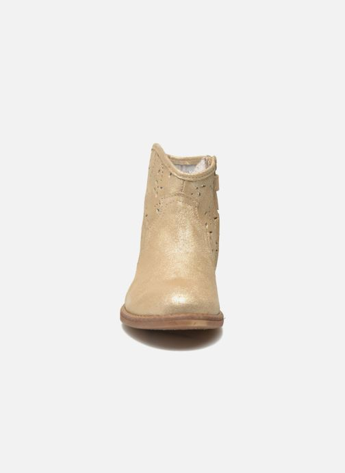 Ankle boots Acebo's Nerea Bronze and Gold model view