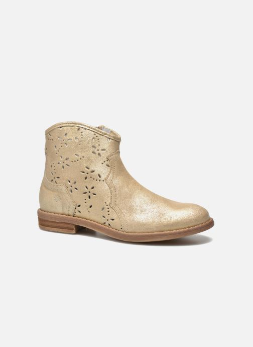 Ankle boots Acebo's Nerea Bronze and Gold detailed view/ Pair view