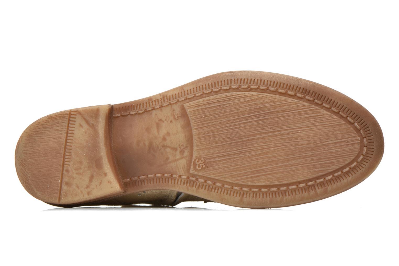 Bottines et boots Acebo's Nerea Or et bronze vue haut