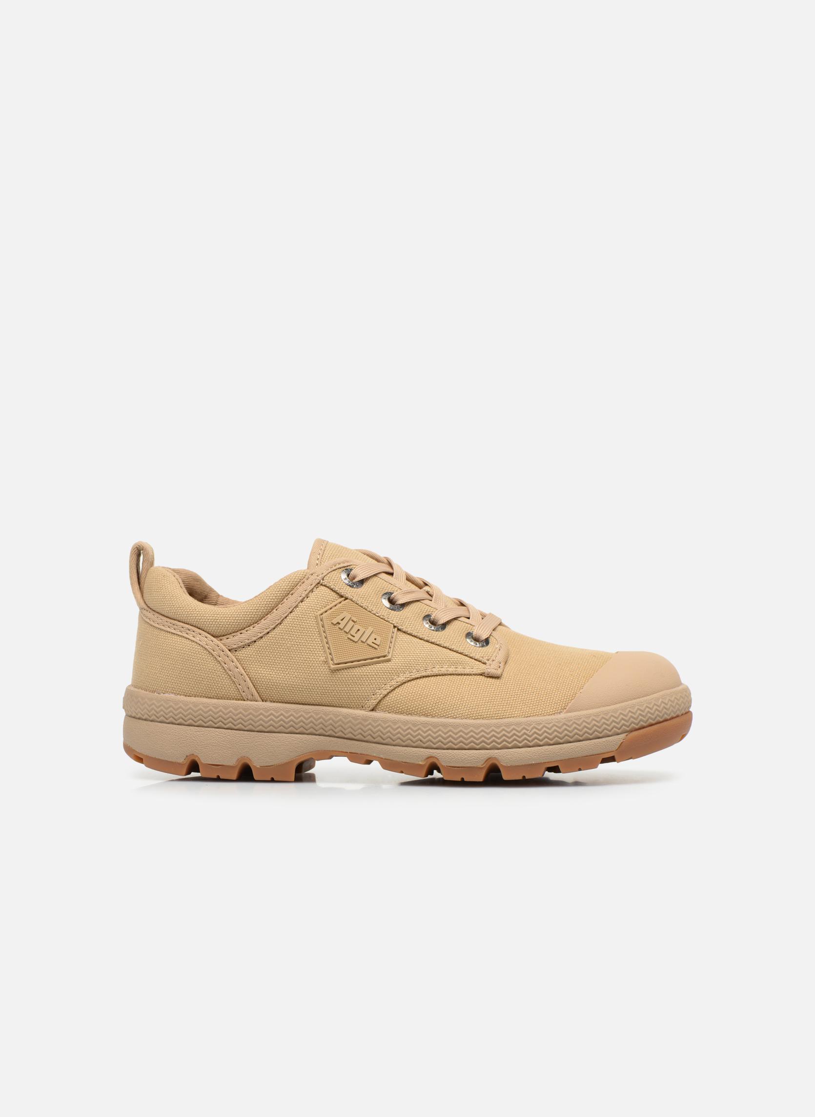Zapatos con cordones Aigle Tenere 3 Light Low W Beige vistra trasera