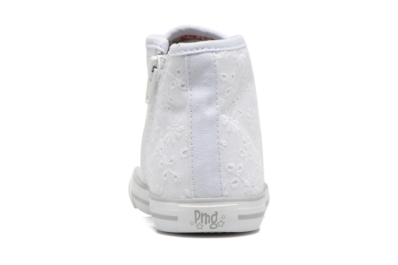 Sneakers Primigi College G86 Vit Bild från höger sidan
