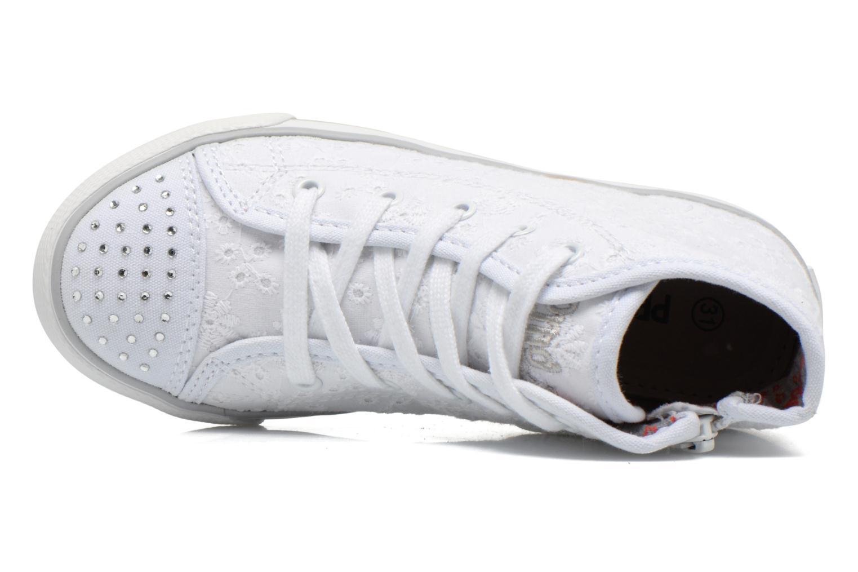 Sneakers Primigi College G86 Vit bild från vänster sidan