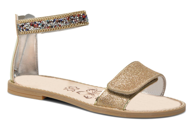 Sandaler Primigi Karine Guld og bronze detaljeret billede af skoene