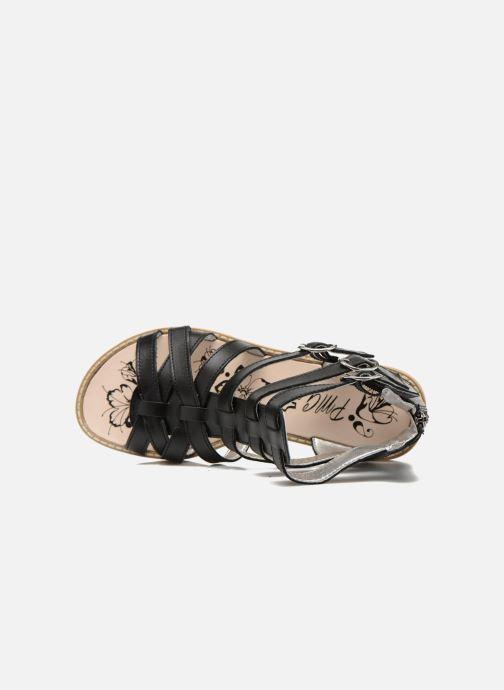 Sandales et nu-pieds Primigi Olimpia Noir vue gauche