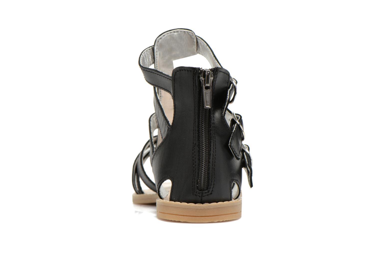 Sandali e scarpe aperte Primigi Olimpia Nero immagine destra