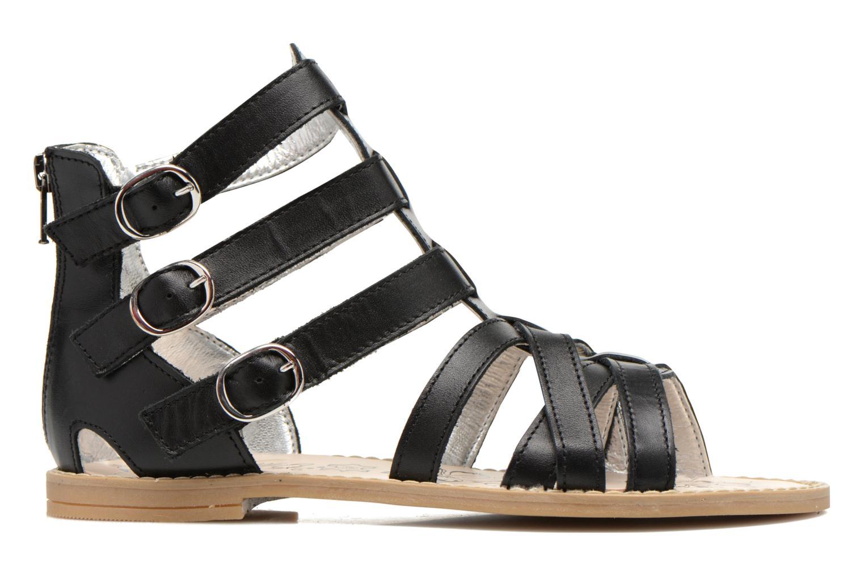 Sandales et nu-pieds Primigi Olimpia Noir vue derrière