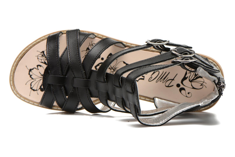 Sandali e scarpe aperte Primigi Olimpia Nero immagine sinistra