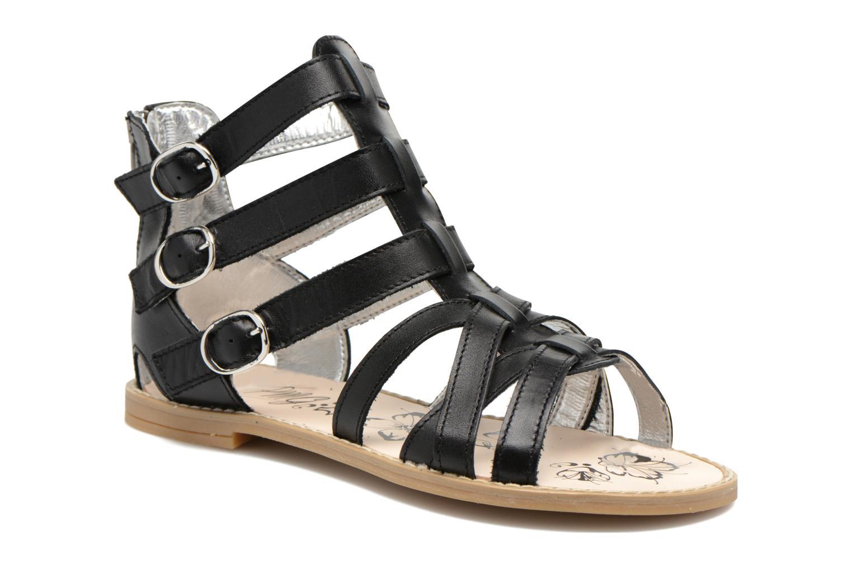 Sandales et nu-pieds Primigi Olimpia Noir vue détail/paire