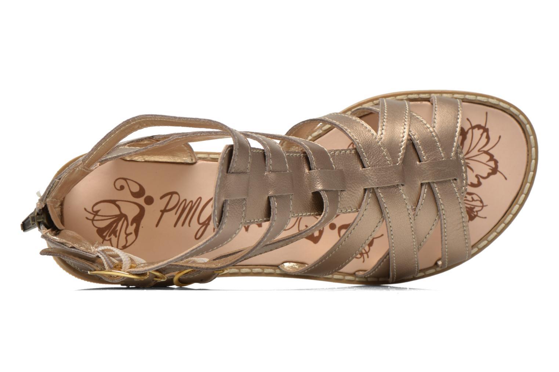 Sandali e scarpe aperte Primigi Olimpia Oro e bronzo immagine sinistra