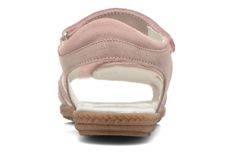 Sandales et nu-pieds Primigi Camelie-E Rose vue droite