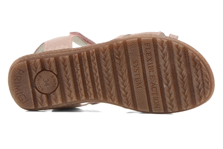 Sandales et nu-pieds Primigi Camelie-E Rose vue haut