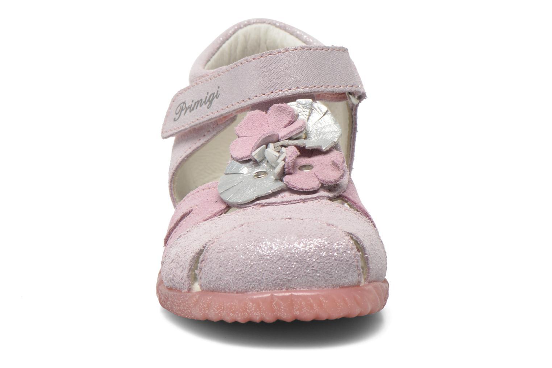 Sandales et nu-pieds Primigi Fraise Rose vue portées chaussures