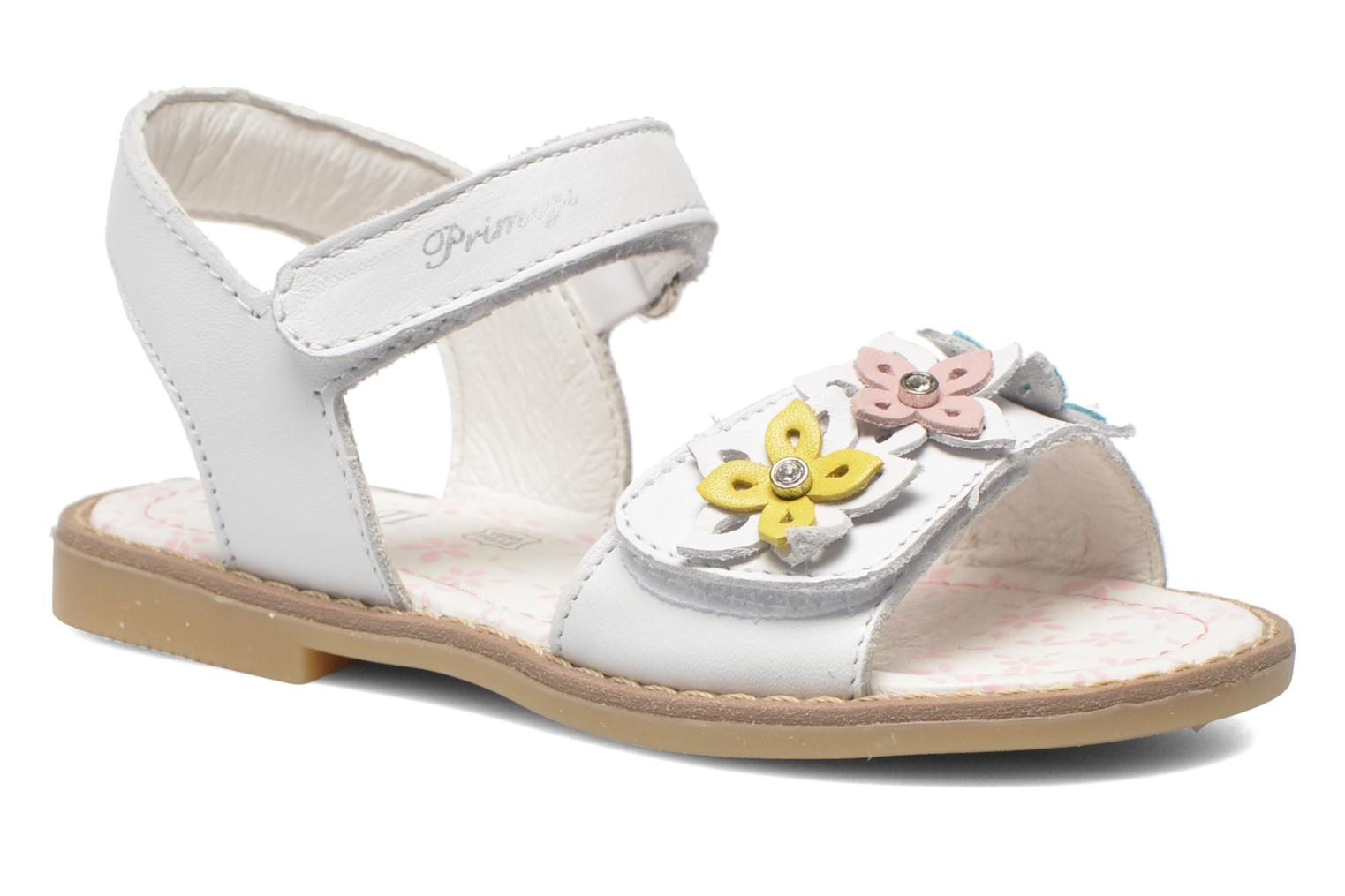 Sandals Primigi Ginessa White detailed view/ Pair view