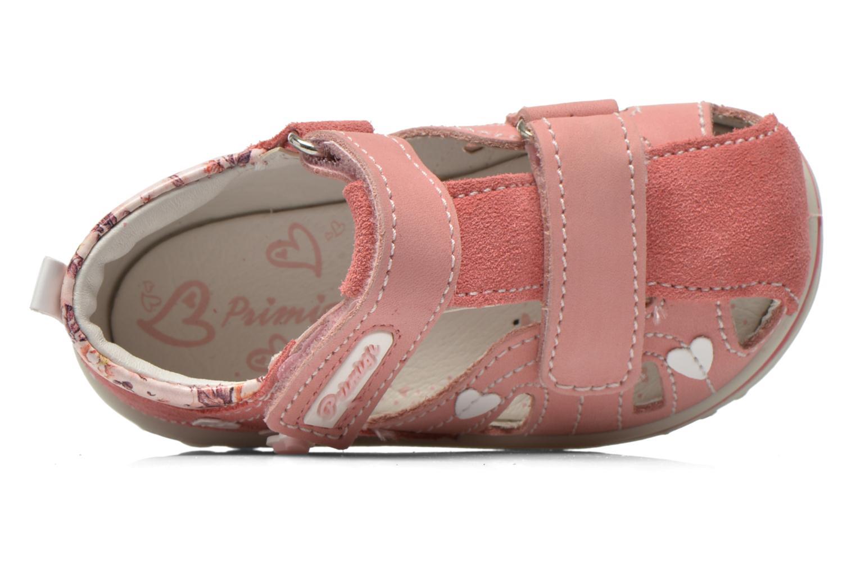 Sandales et nu-pieds Primigi Vania Rose vue gauche