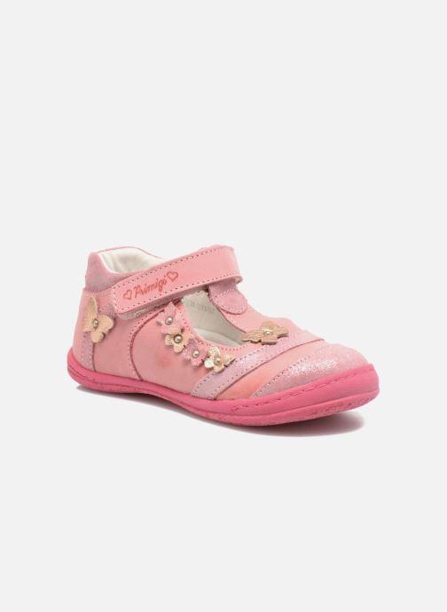 Velcro shoes Primigi Giusy-E Pink detailed view/ Pair view