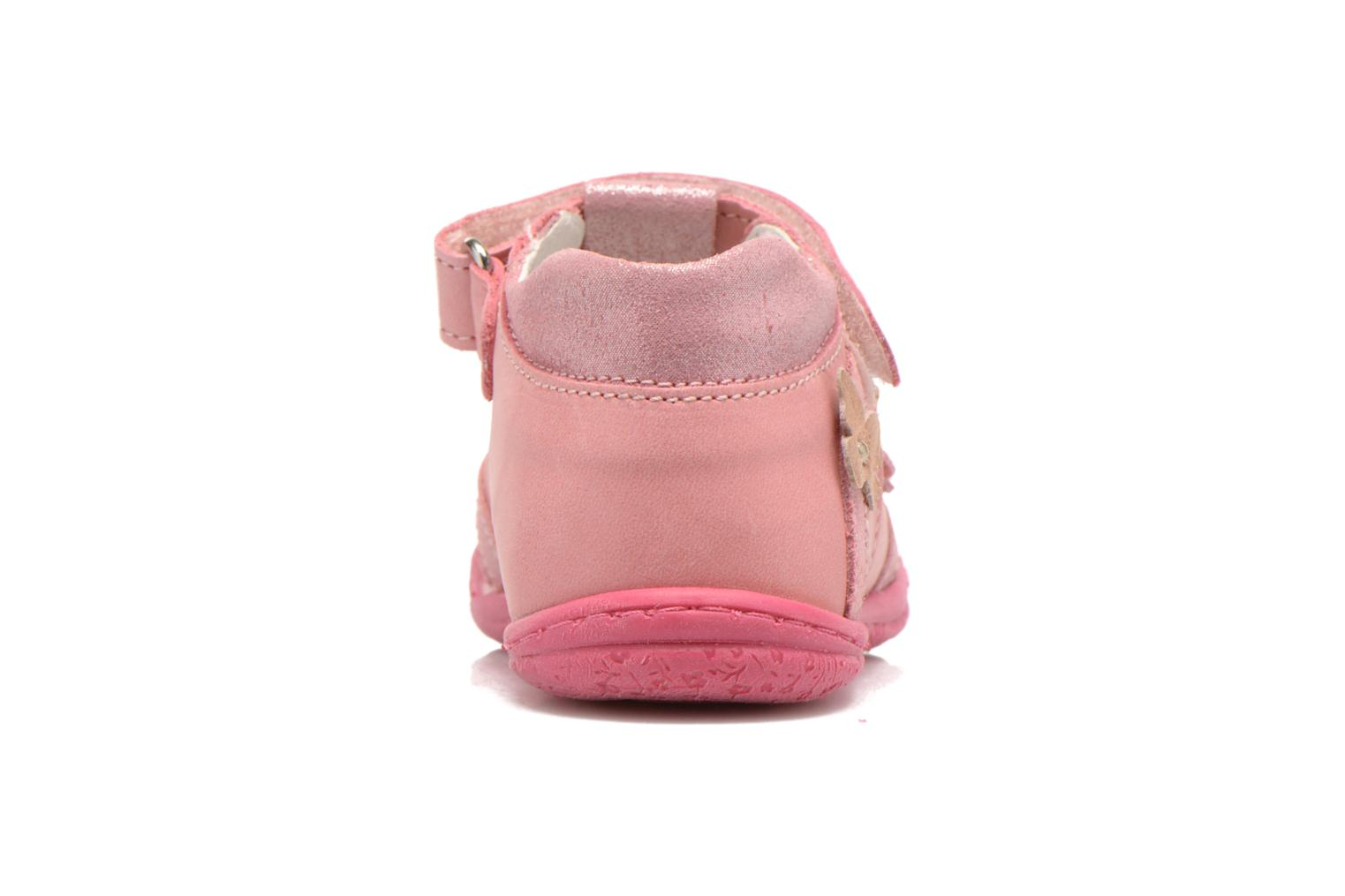 Velcro shoes Primigi Giusy-E Pink view from the right