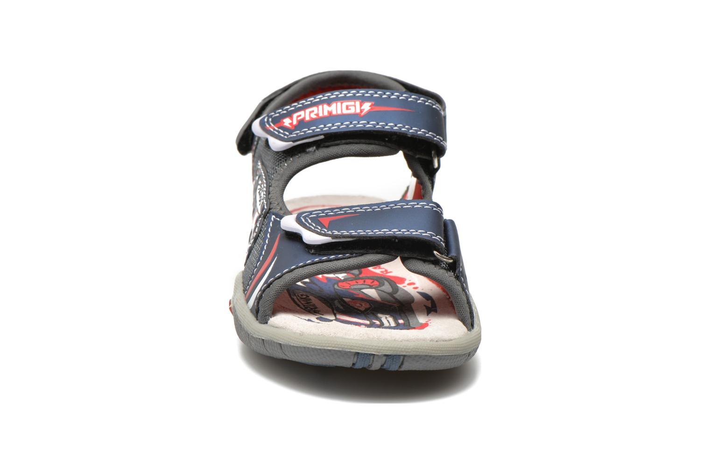 Sandales et nu-pieds Primigi Car San Light Bleu vue portées chaussures