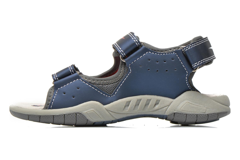 Sandales et nu-pieds Primigi Car San Light Bleu vue face