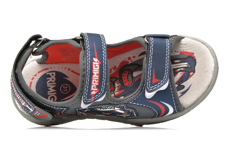 Sandales et nu-pieds Primigi Car San Light Bleu vue gauche