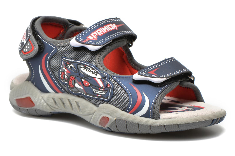 Sandales et nu-pieds Primigi Car San Light Bleu vue détail/paire