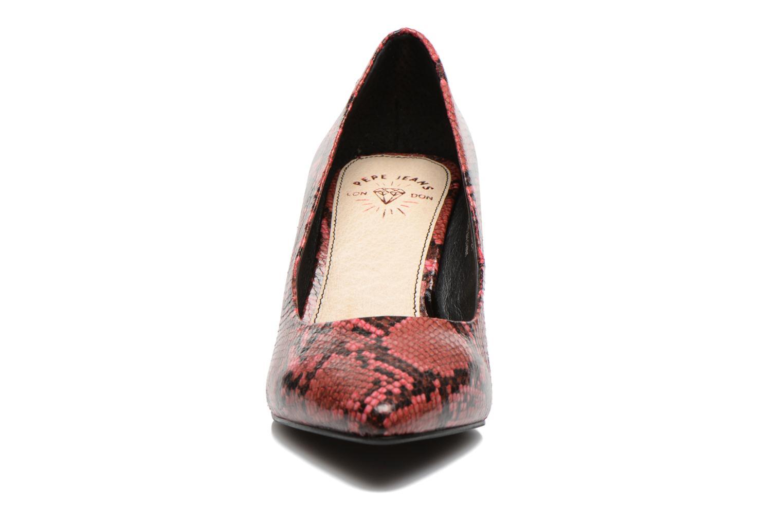 Zapatos de tacón Pepe jeans Megan Vino vista del modelo