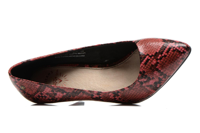 Zapatos de tacón Pepe jeans Megan Vino vista lateral izquierda