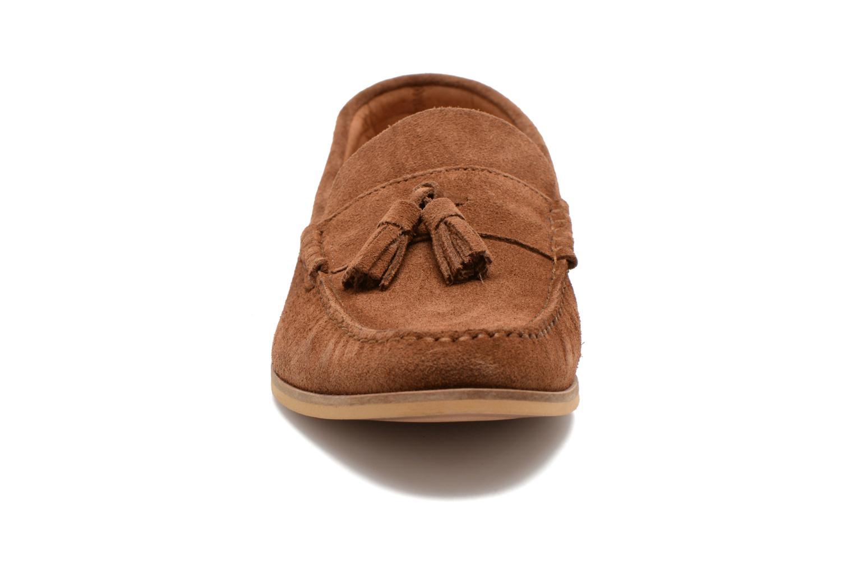 Mocassins Marvin&Co Waloo Marron vue portées chaussures