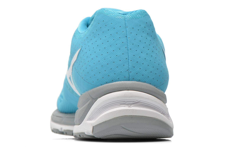 Chaussures de sport Mizuno Mizuno Synchro MX W Bleu vue droite