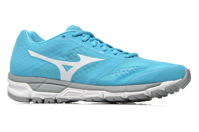Chaussures de sport Mizuno Mizuno Synchro MX W Bleu vue derrière