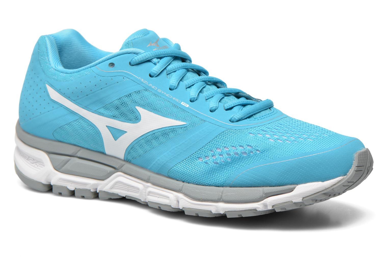 Chaussures de sport Mizuno Mizuno Synchro MX W Bleu vue détail/paire