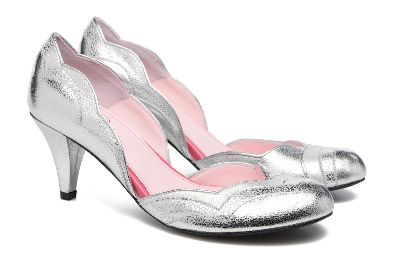 Zapatos de tacón Annabel Winship Rustyjames Plateado vista 3/4