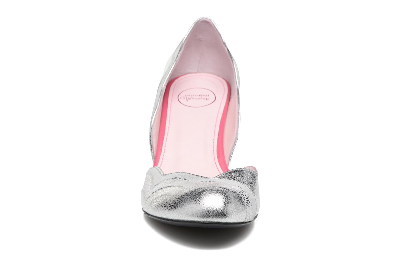 Zapatos de tacón Annabel Winship Rustyjames Plateado vista del modelo
