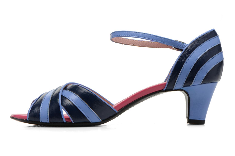 Sandales et nu-pieds Annabel Winship Rastafari Bleu vue face