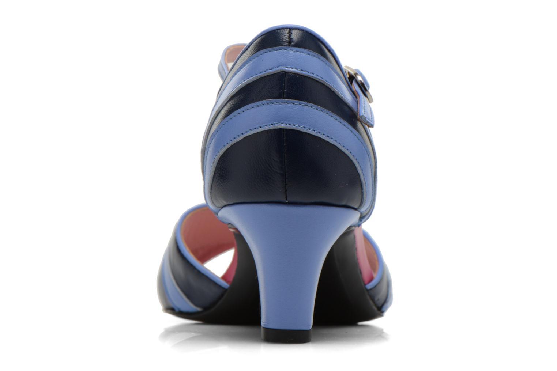 Sandales et nu-pieds Annabel Winship Rastafari Bleu vue droite