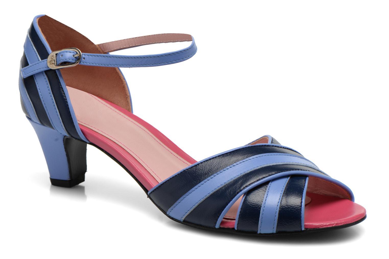 Sandales et nu-pieds Annabel Winship Rastafari Bleu vue détail/paire
