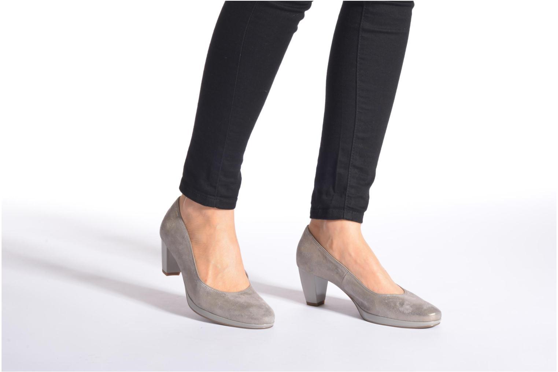 Zapatos de tacón Ara Toulouse Pla Negro vista de abajo
