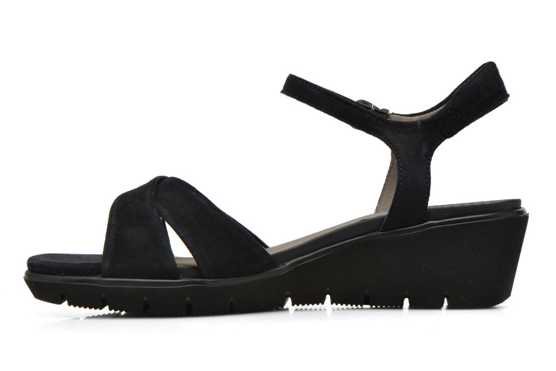 Sandales et nu-pieds Ara Mars Bleu vue face