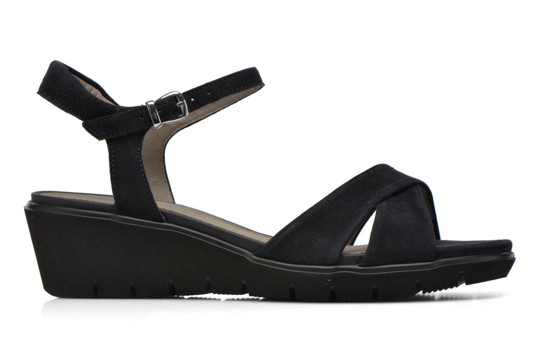 Sandales et nu-pieds Ara Mars Bleu vue derrière